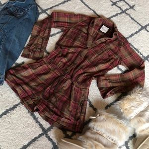 Heritage 1981 Flannel Romper